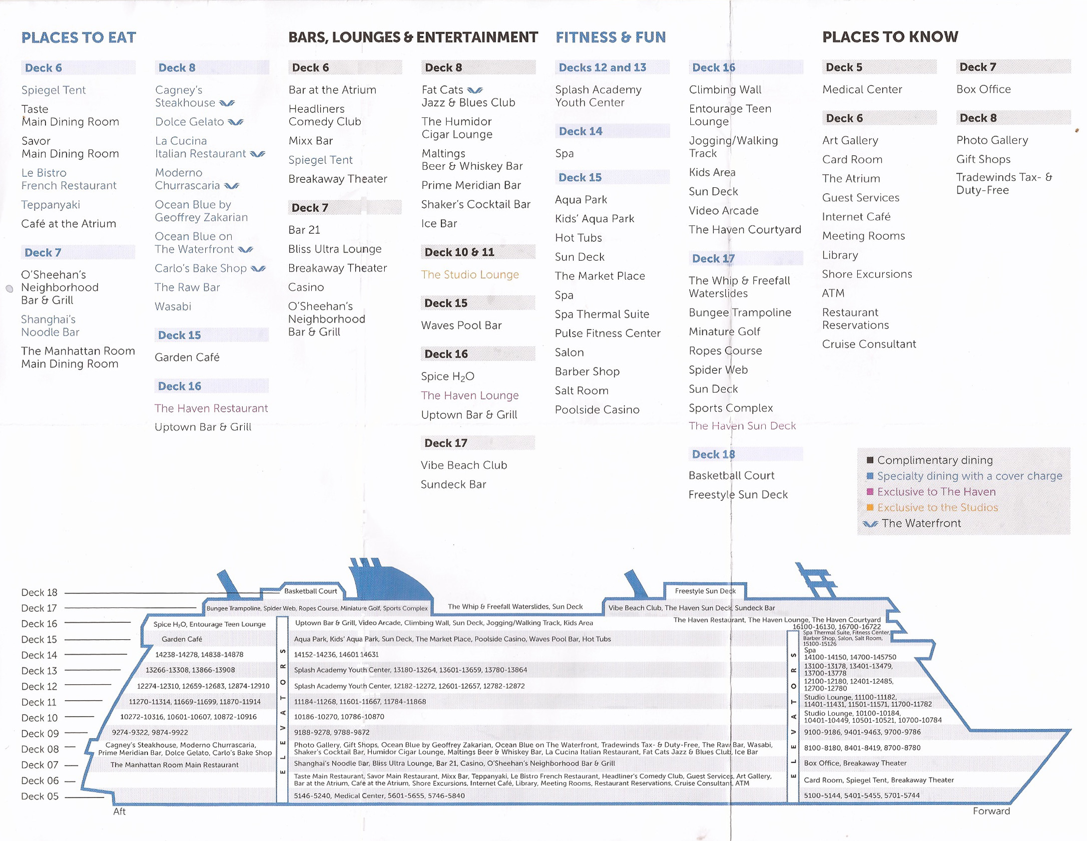 norwegian breakaway deck plan With norwegian breakaway floor plan