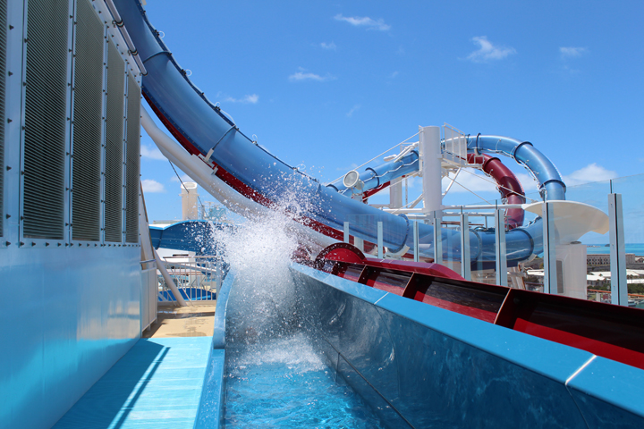 Norwegian Breakaway – Water Slides
