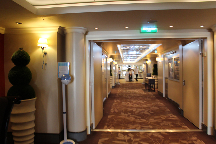 Norwegian Epic Buffet Entrance Travelxena